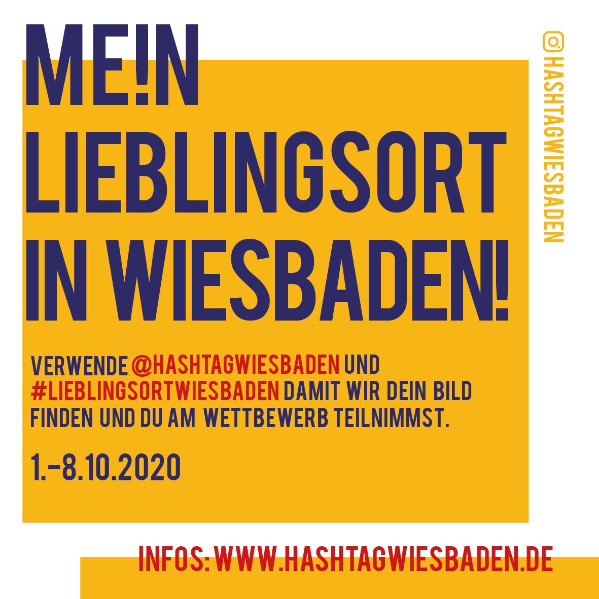 1.-8.10.2020 Mein Lieblingsort in Wiesbaden